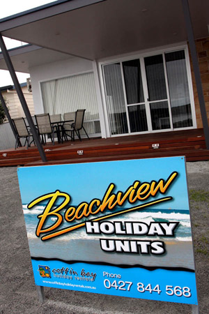 Coffin Bay Accommodation at the Beachview Holiday Units